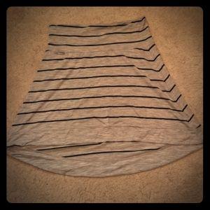 Icebreaker hi-lo skirt